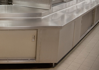 Stainless Steel Cabinets - Friendswood, TX