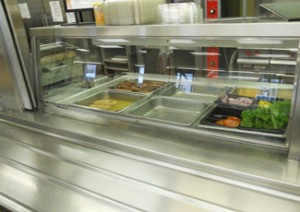 nsf stainless steel counter