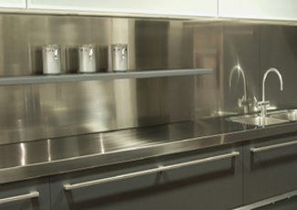 Stainless Steel Countertops - Conroe, TX