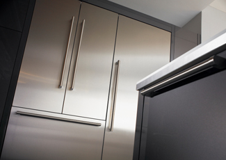 Houston, TX Stainless Steel Kitchen Cabinets