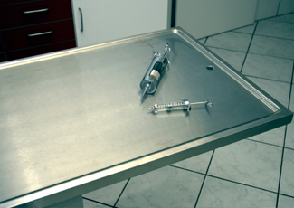 The Woodlands, TX Cleanroom Table